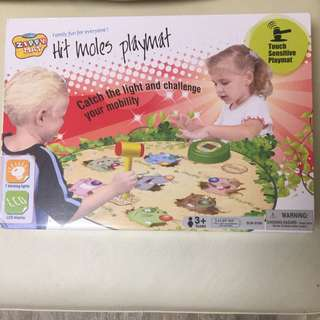 Hit Moles Playmat