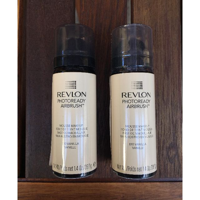 2 x New Revelon Airbrush Foundation (VANILLA)