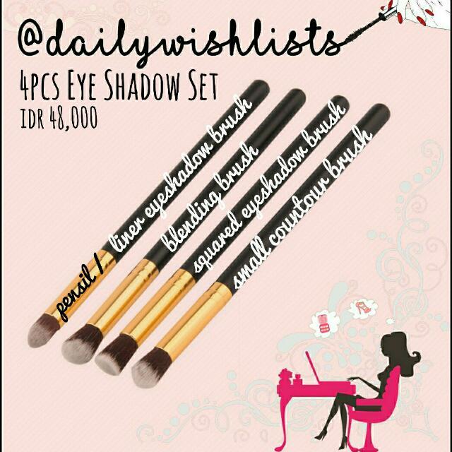 4 Brush Eyeshadow Set