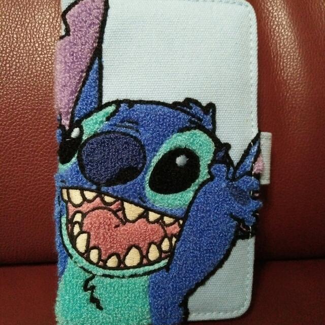 東京 迪士尼海洋園區 Stitch 史迪奇 手機皮套 多款手機通用 萬用殼 萬用皮套