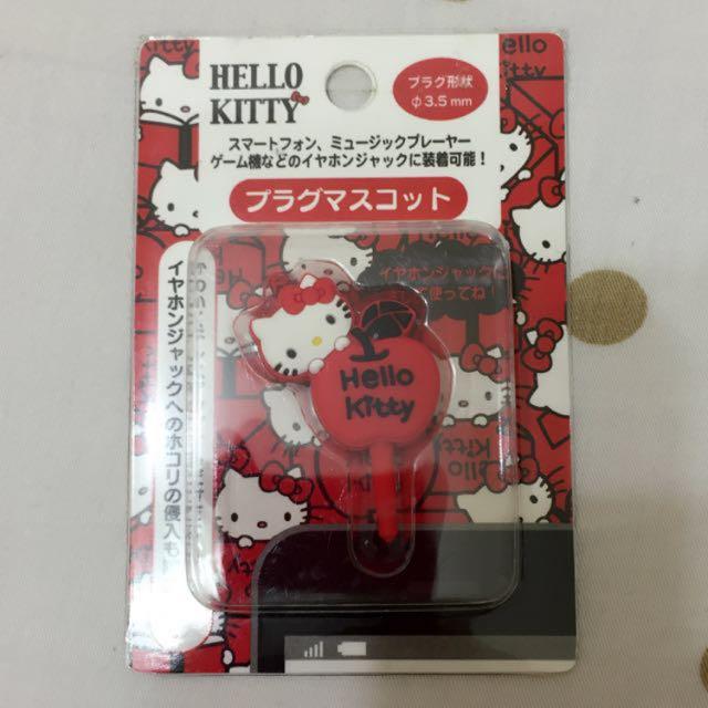 正版 Sanrio三麗鷗 Kitty耳機塞