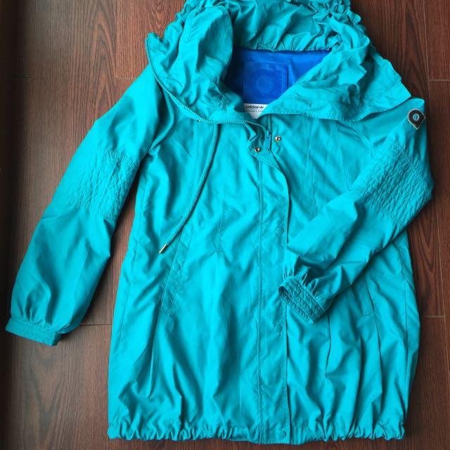 韓國購入🇰🇷Adidas Windbreaker 長版風衣