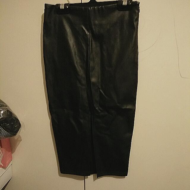 Black Bodycorn Skirt