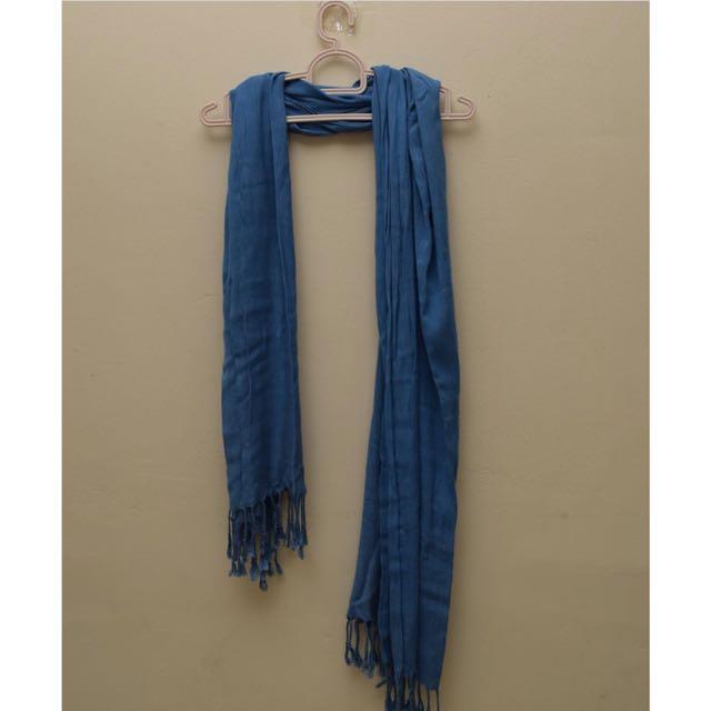 Blue Scarf (www sm Brand)