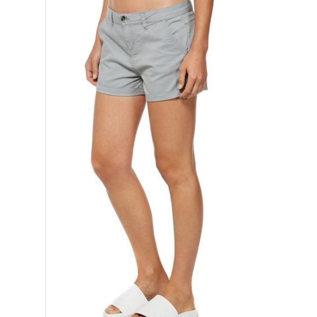 f6e82b47582 BNWT  CO  Cotton On Slant Pocket Chino Short Sateen Shell Grey (AU8 ...