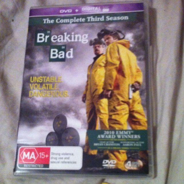 Breaking Bad The Complete Third Season