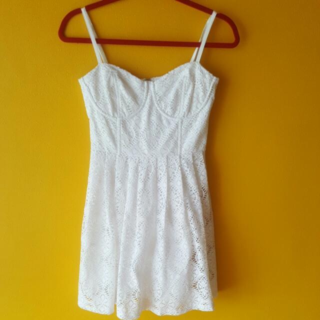 Love Bonito Crochet Dress