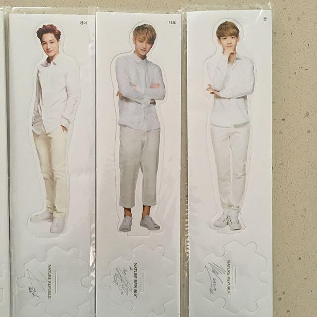 EXO Mini Standies With Signatures *Nature Republic*
