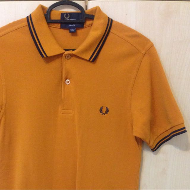 Fred Perry Mustard top