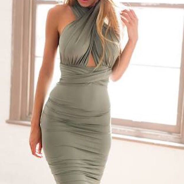 Multi-way Bodycon Dress