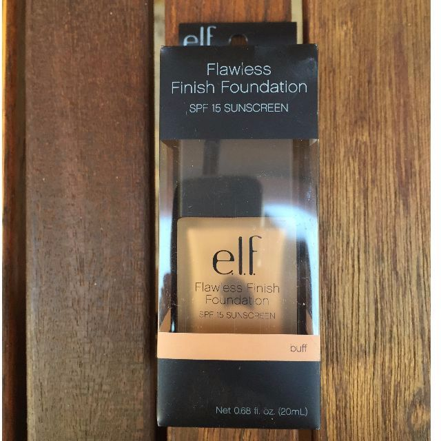 NEW - Elf Flawless Finish Foundation (BUFF)