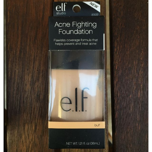 NEW - Elf Foundation Acne Fighting (BUFF)