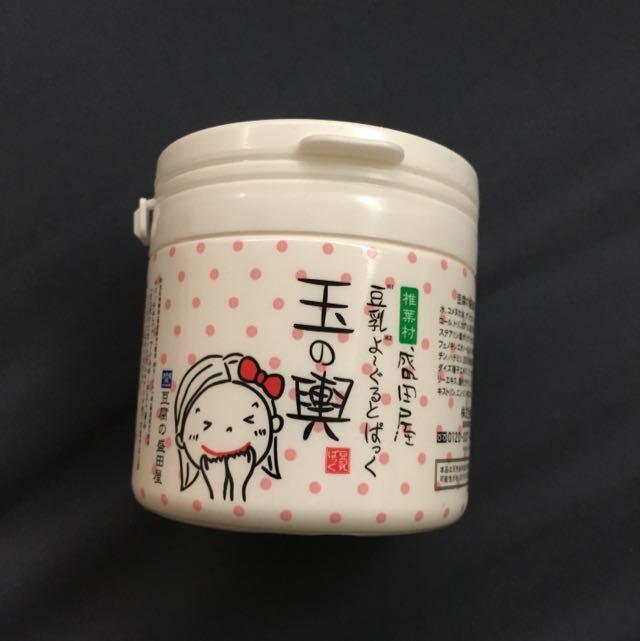 日本暢銷NO. 1 玉の輿 豆乳優格霜狀面膜