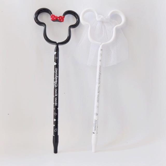Pen Mickey & Minnie Wedding From Disney hongkong