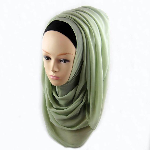 Plain Chiffon Scarves / Hijab