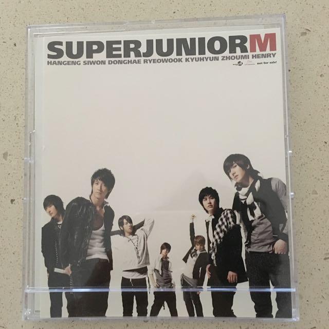 Super Junior M Standing Calendar