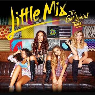 Little Mix                                                                                                                                                           The Get Weird Tour 2016