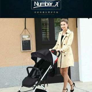 嬰兒推車 高景觀推車 時尚輕巧 可登機 出國必備 一鍵單手收車
