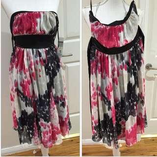 Chiffon Tube Summer Dress