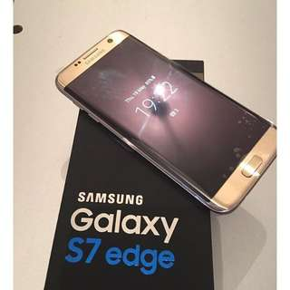 BRAND NEW!! SAMSUNG S7 EDGE GOLD*RECEIPT AVAILABLE FOR ITEM* FACTORY UNLOCKED