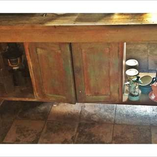 Recycled Timber Kitchen bench
