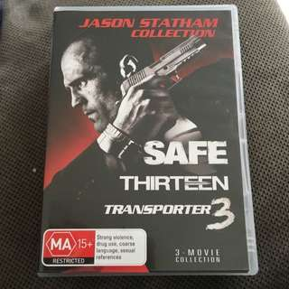 Jason Statham Collection - Three In On DVD