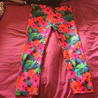 Floral Lorna Jane Leggings