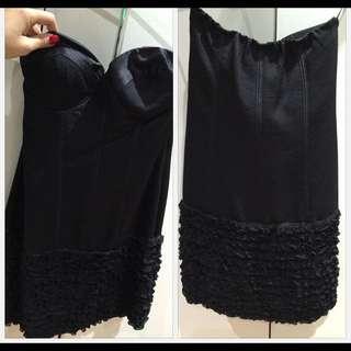 Black Seduce Tube Dress