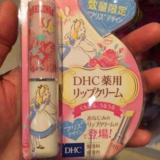 DHC限量護唇膏 愛麗絲 迪士尼