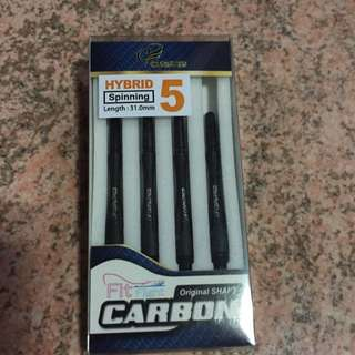 Cosmo Fit Hybrid Carbon Shaft (Spinning) No.5 31.0mm