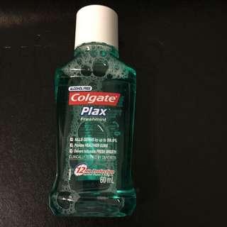 Colgate Plax Fresh Mint Mouthwash 60mL