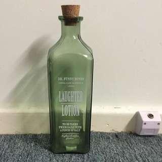 Vintage Corked Glass Bottle