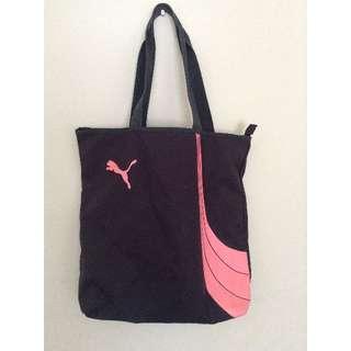 Pink Puma Sports Bag