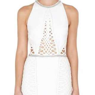 j p  Sass & Bide Too Much Information Woven & Embellished Dress