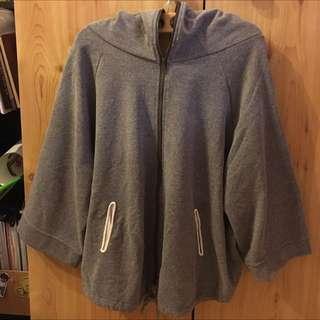 Two Way Grey Hoodie/Jacket