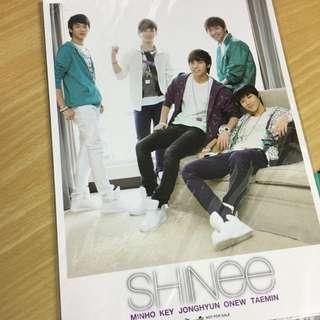 SHINee 2009年年曆 珍藏