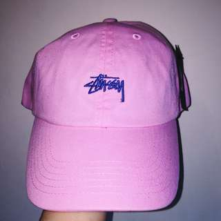 正品 STUSSY STOCK LOW PROFILE CAP老帽 棒球帽 附吊牌