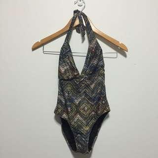 Low-back One-piece Swimwear