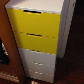 IKEA Nordli chest of 5 drawers