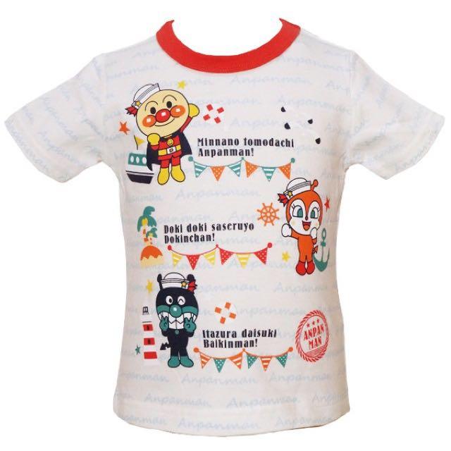 麵包超人2016夏季新款短袖T恤(日本直送,正版商品)