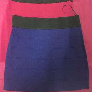 2 Pcs Short Skirt