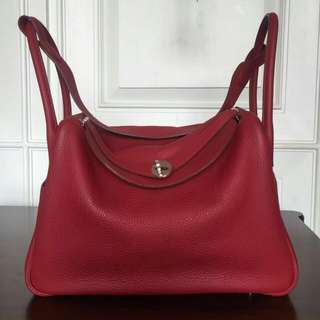 Lindy 34 Rouge Garance, Clemence, PHW Stamp, #P