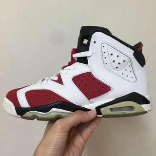 Air Jordan 6 胭脂紅 GS