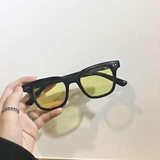 GD同款黃色眼鏡