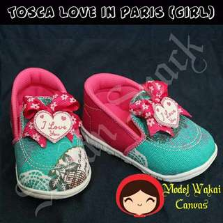 Prewalker Shoes Tosca Love In Paris (Girl)
