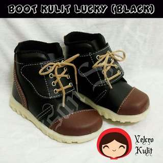 Prewalker Shoes Boot Lucky Boy