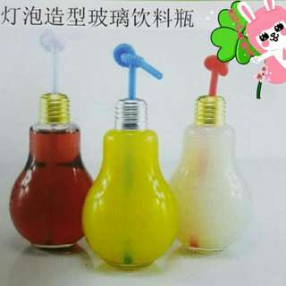 Light Bulb Glass Bottle