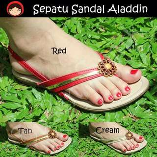 PROMO Sepatu Sandal Aladdin