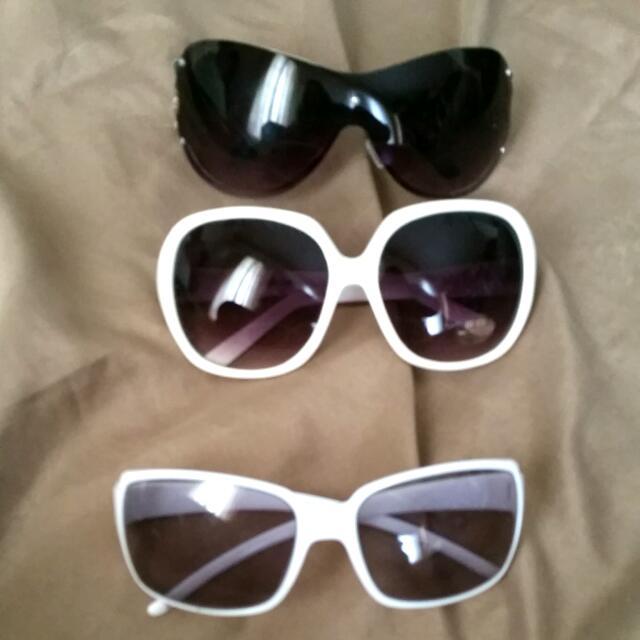 3x Sun Glasses