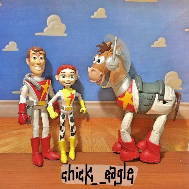 玩具總動員太空系列胡迪警長翠絲紅心公仔
